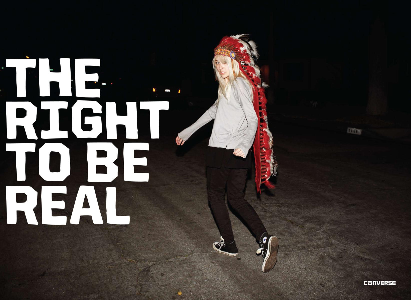 Converse Print Ad -  Fall/Winter 2011, 1