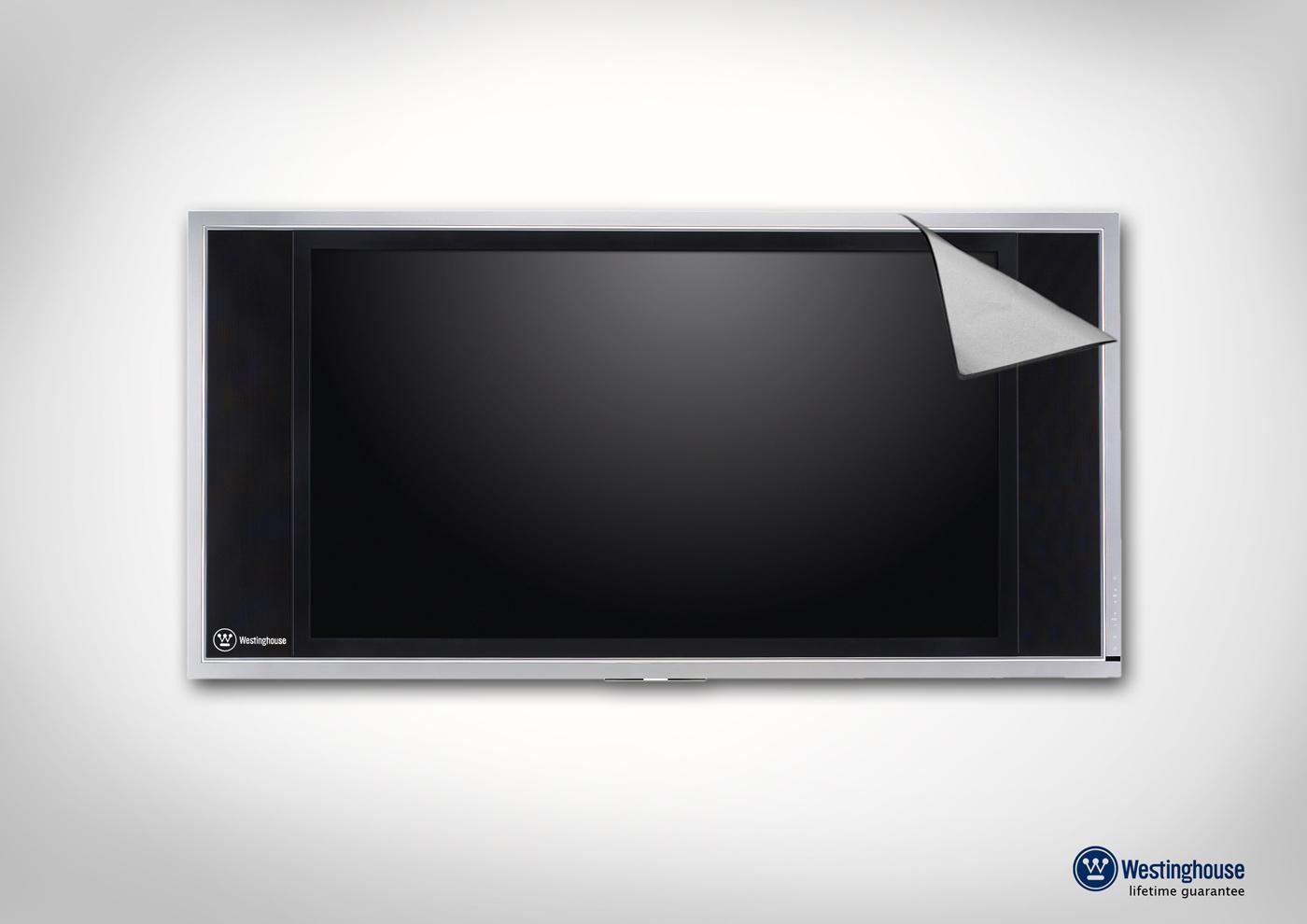 Westinghouse Print Ad -  TV