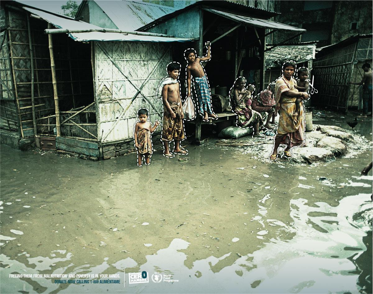 World Food Programme Print Ad -  Village