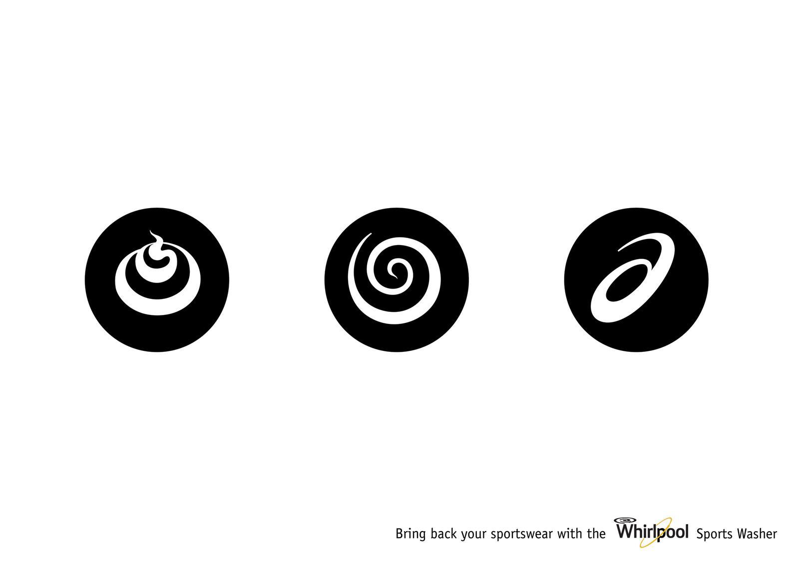 Whirlpool Print Ad -  Asics