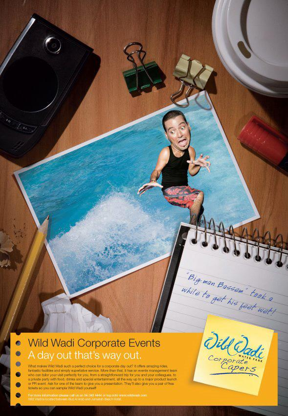 Wild Wadi Print Ad -  Bassem