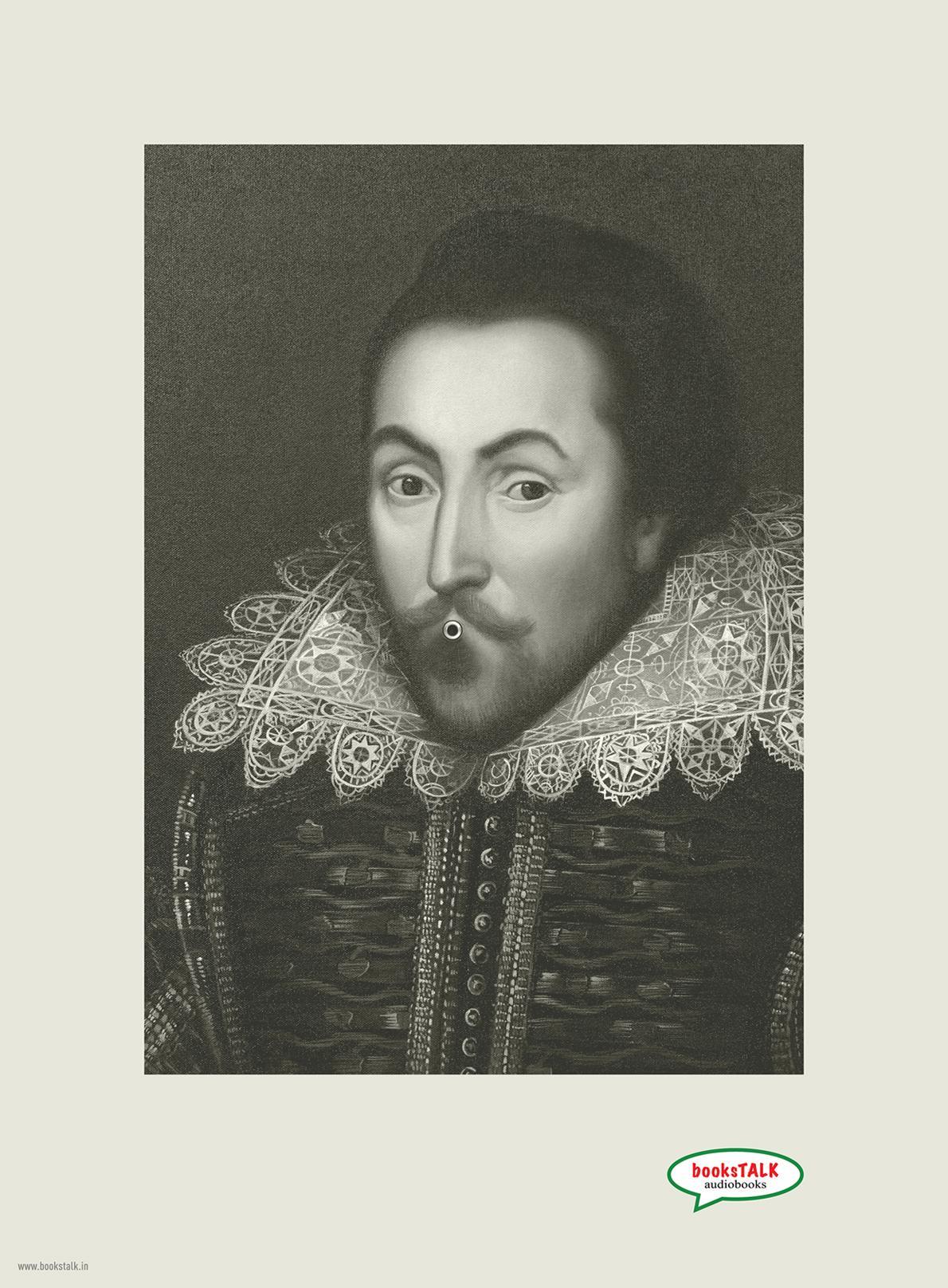 booksTALK Print Ad -  William Shakespeare
