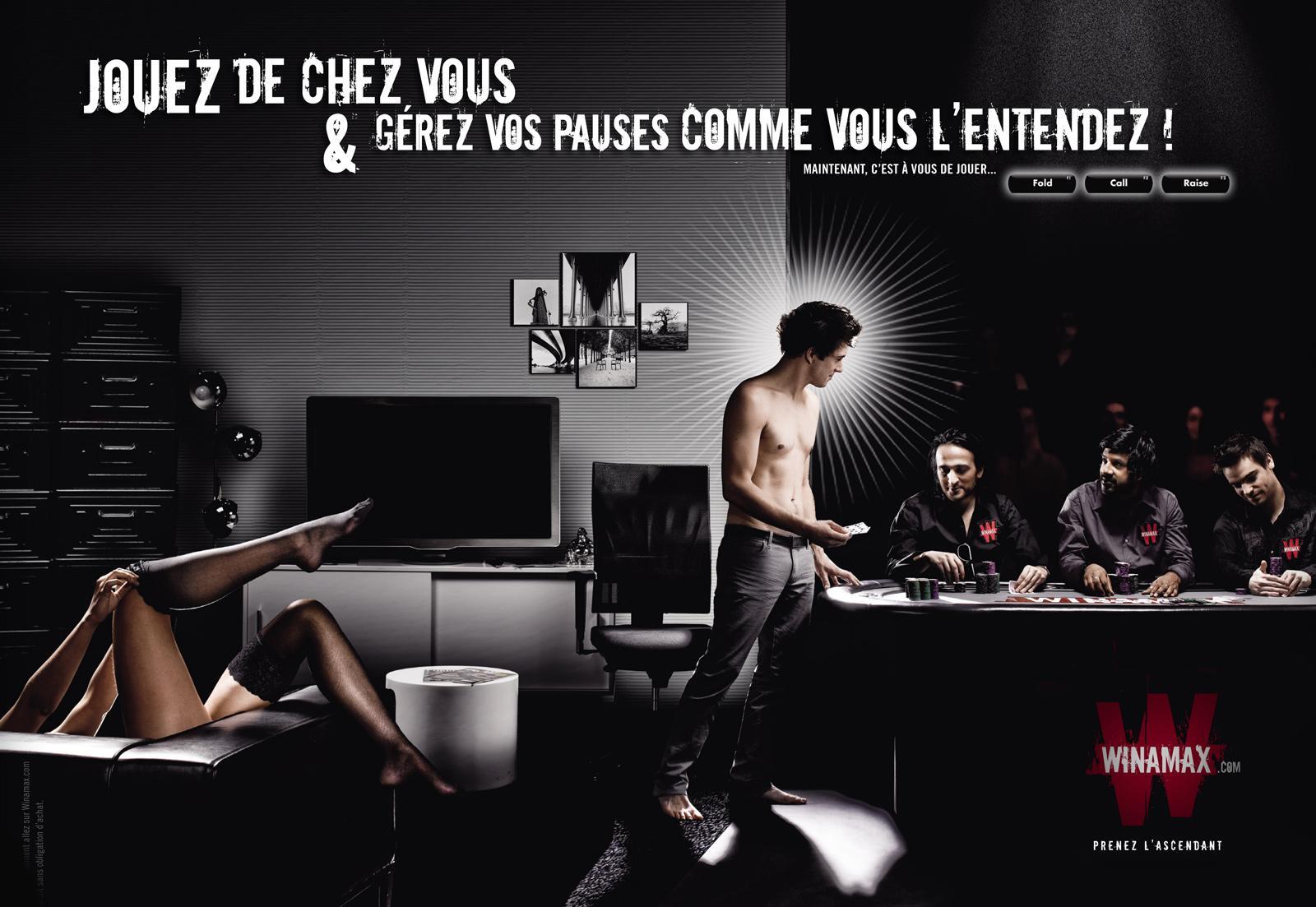 Winamax Print Ad -  Break