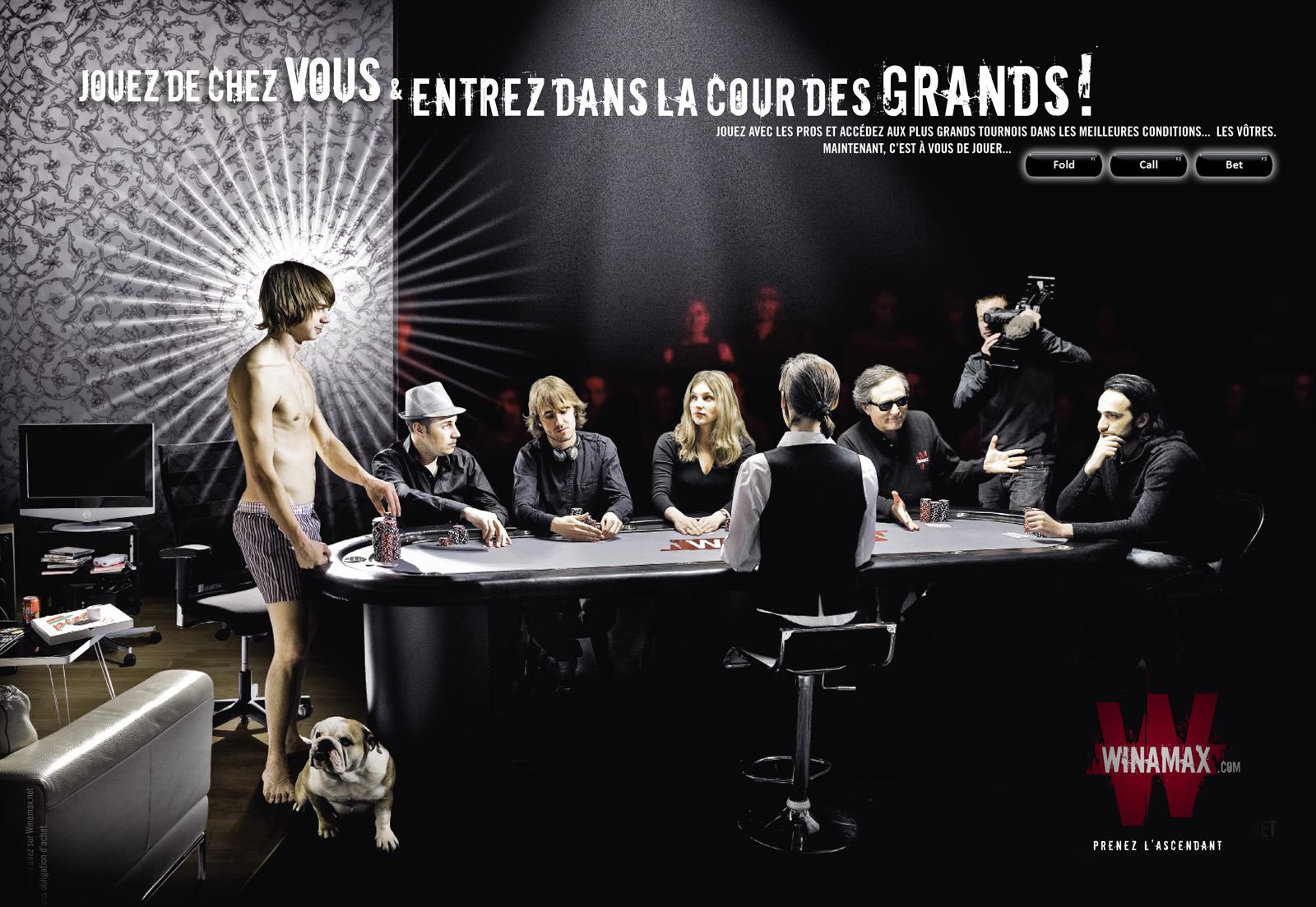 Winamax Print Ad -  Tournaments