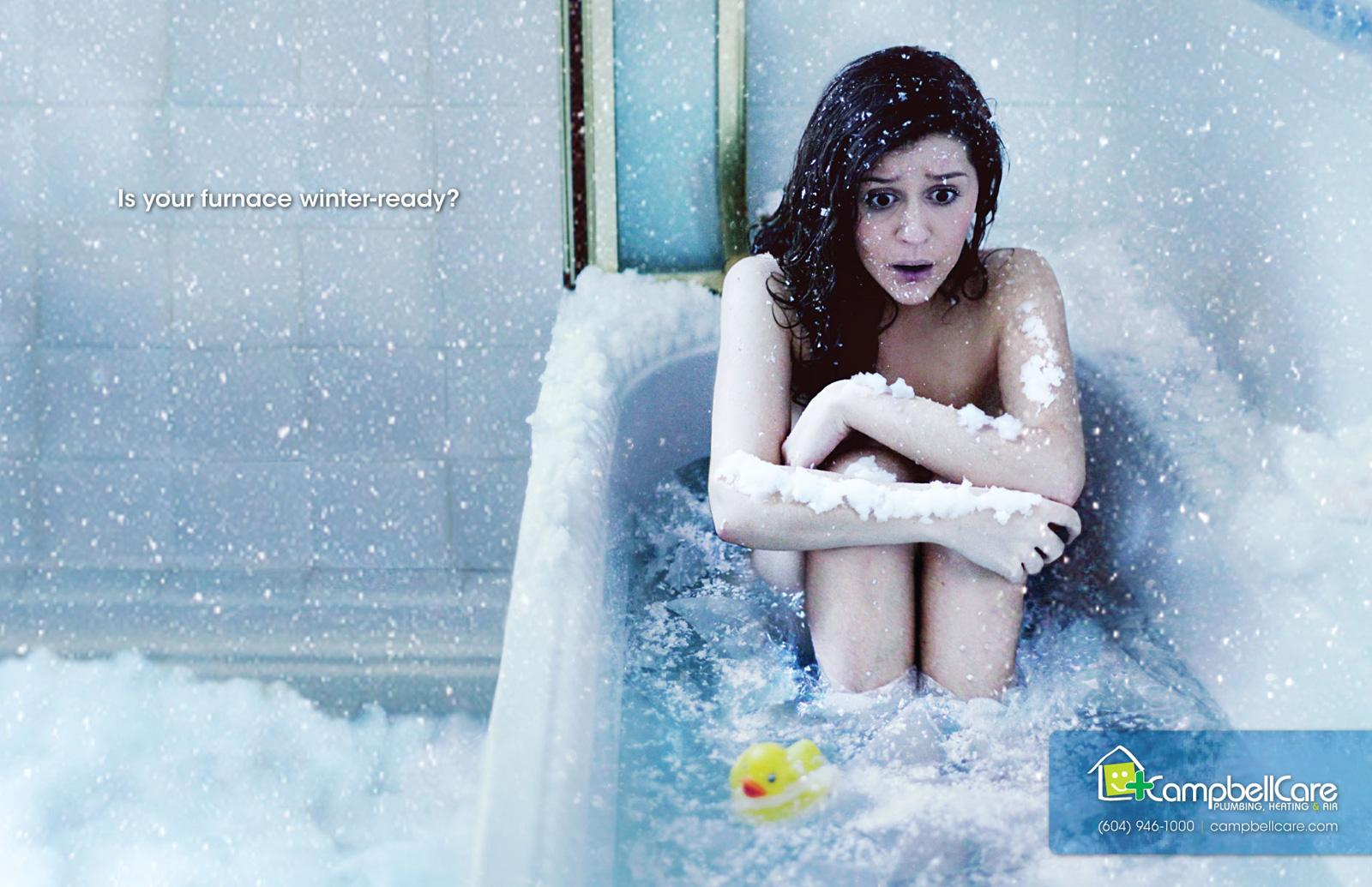 Campbell Care Print Ad -  Bath