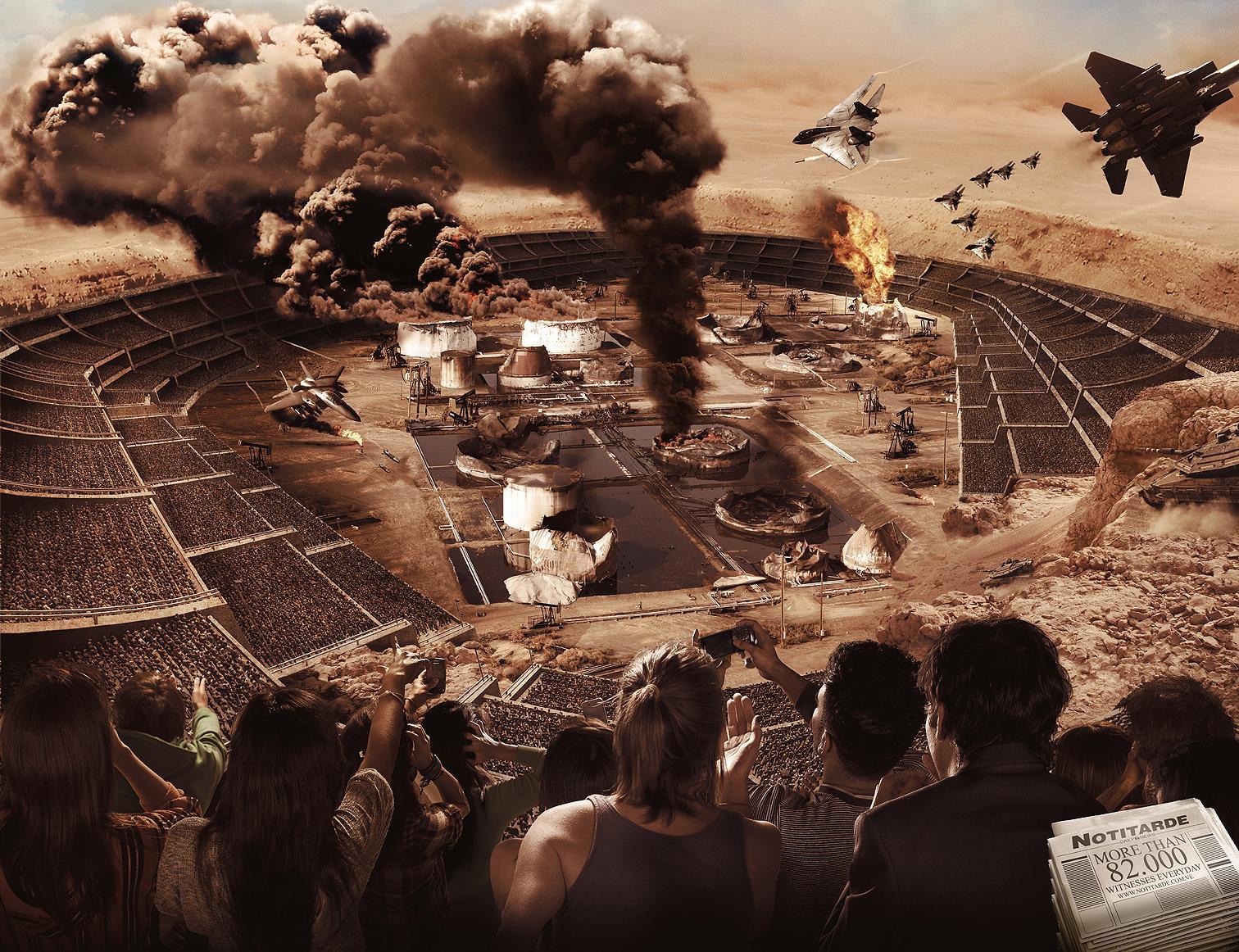 Notitarde Print Ad -  Witnesses, Desert Storm