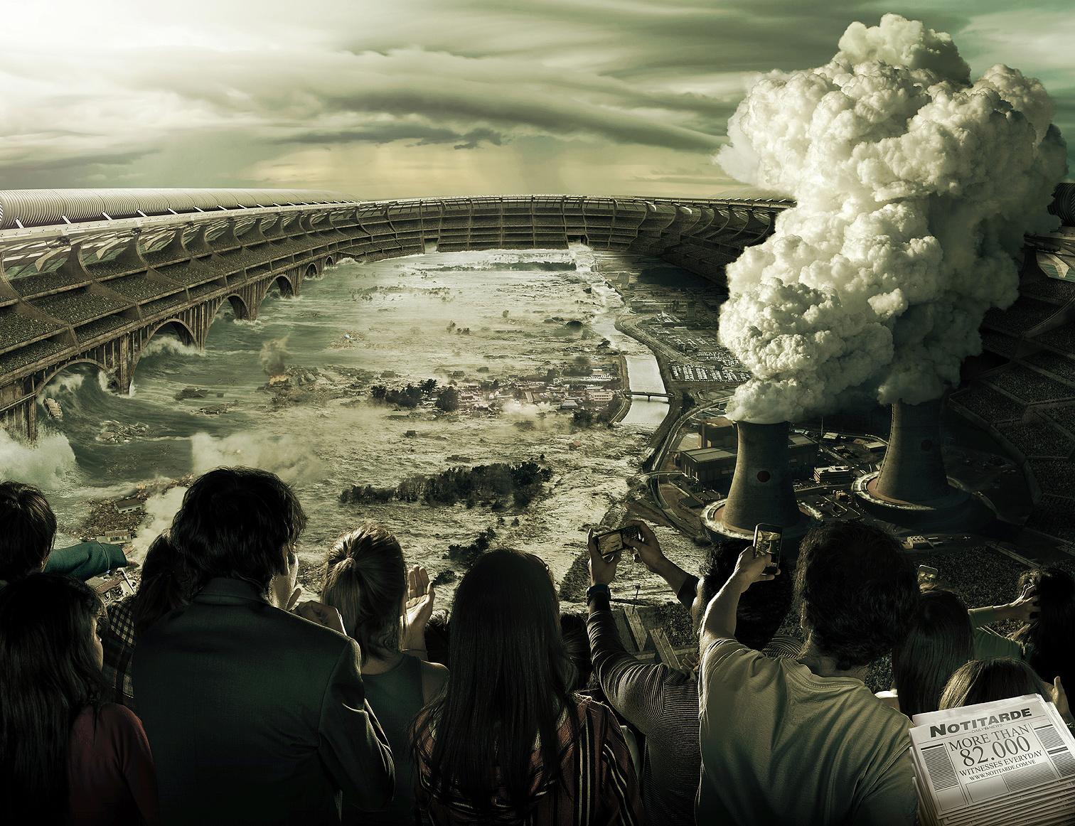 Notitarde Print Ad -  Witnesses, Tsunami