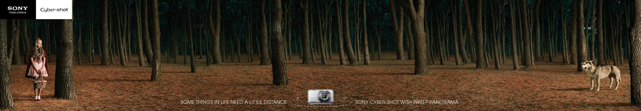 Sony Print Ad -  Wolf