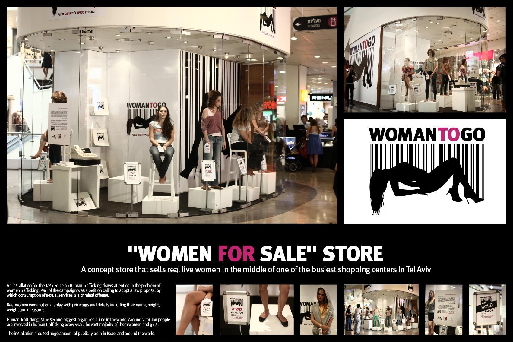 Atzum Ambient Ad -  Women to go