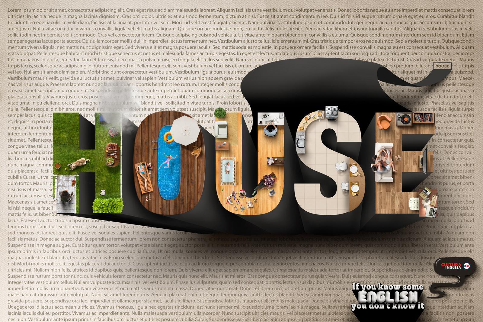 Merveilleux Cultura Inglesa Print Ad   House