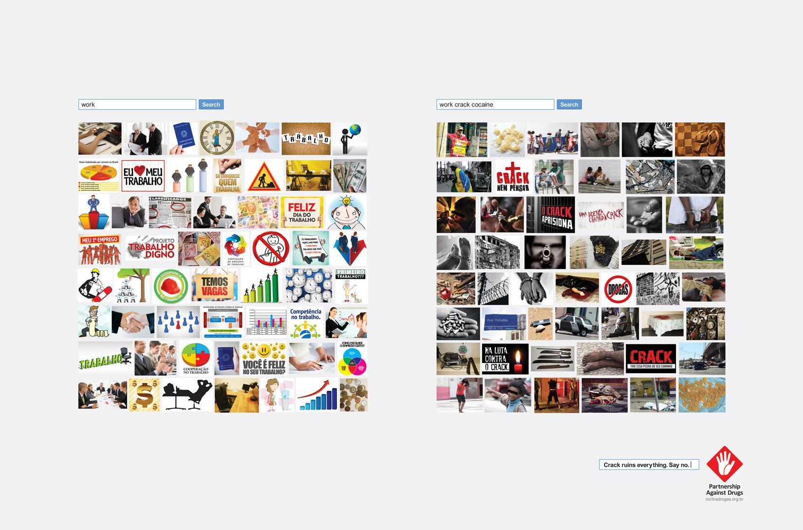 Associação Parceria Contra Drogas Print Ad -  Work
