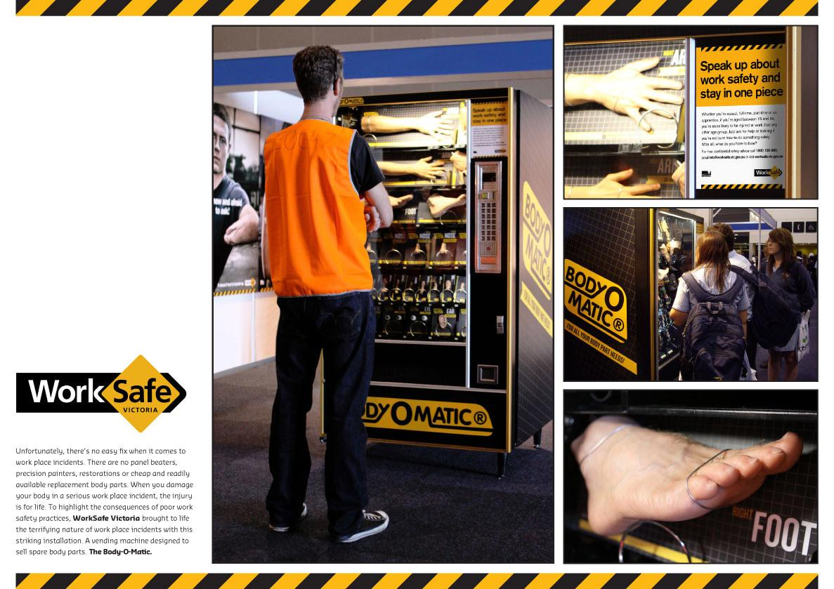 Worksafe Ambient Ad -  Body-O-Matic