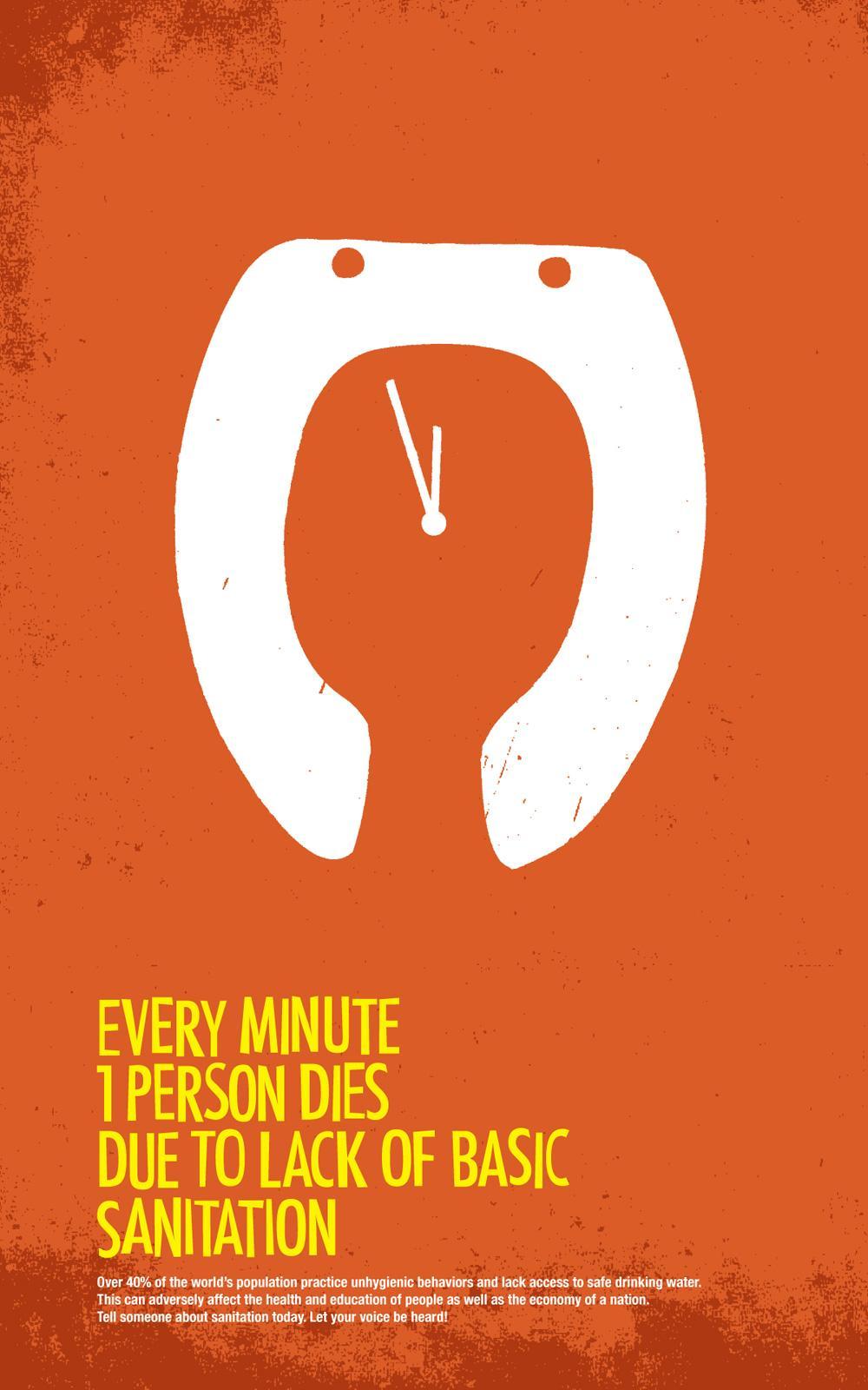 World Sanitation Print Ad -  Time