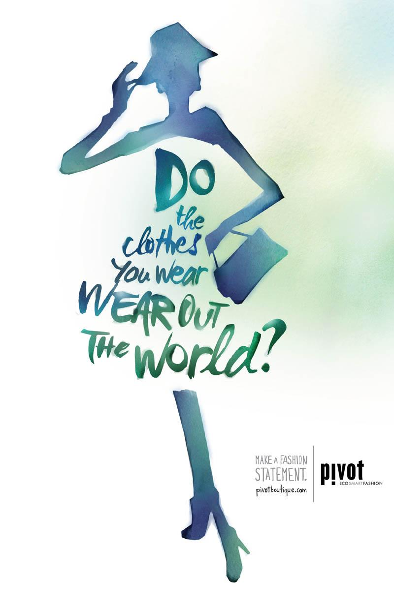 Pivot Boutique Print Ad -  World