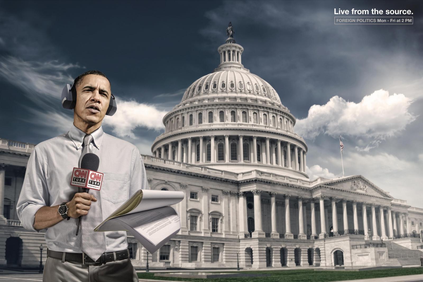 CNN Print Ad -  Obama