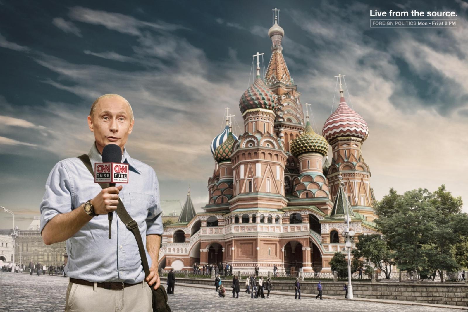 CNN Print Ad -  Putin