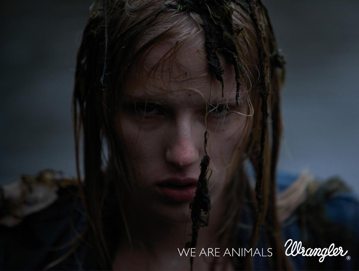 Wrangler Print Ad -  We are animals, 2