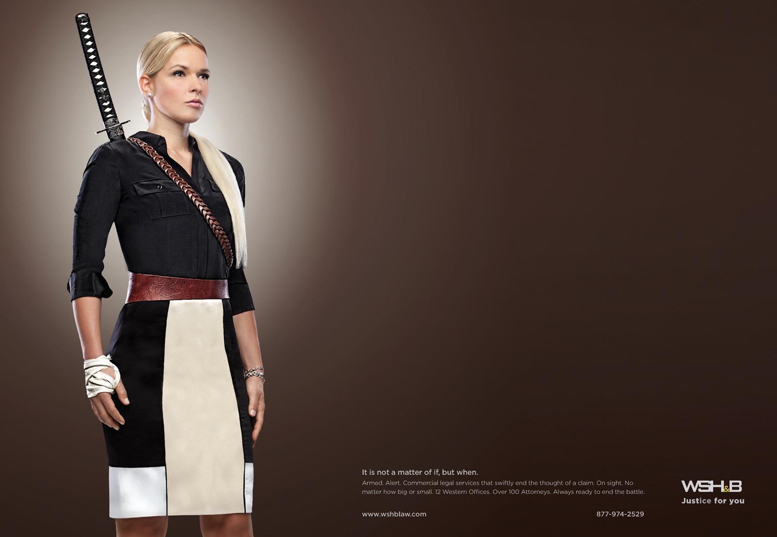 Wood Smith Henning & Berman Print Ad -  Machete