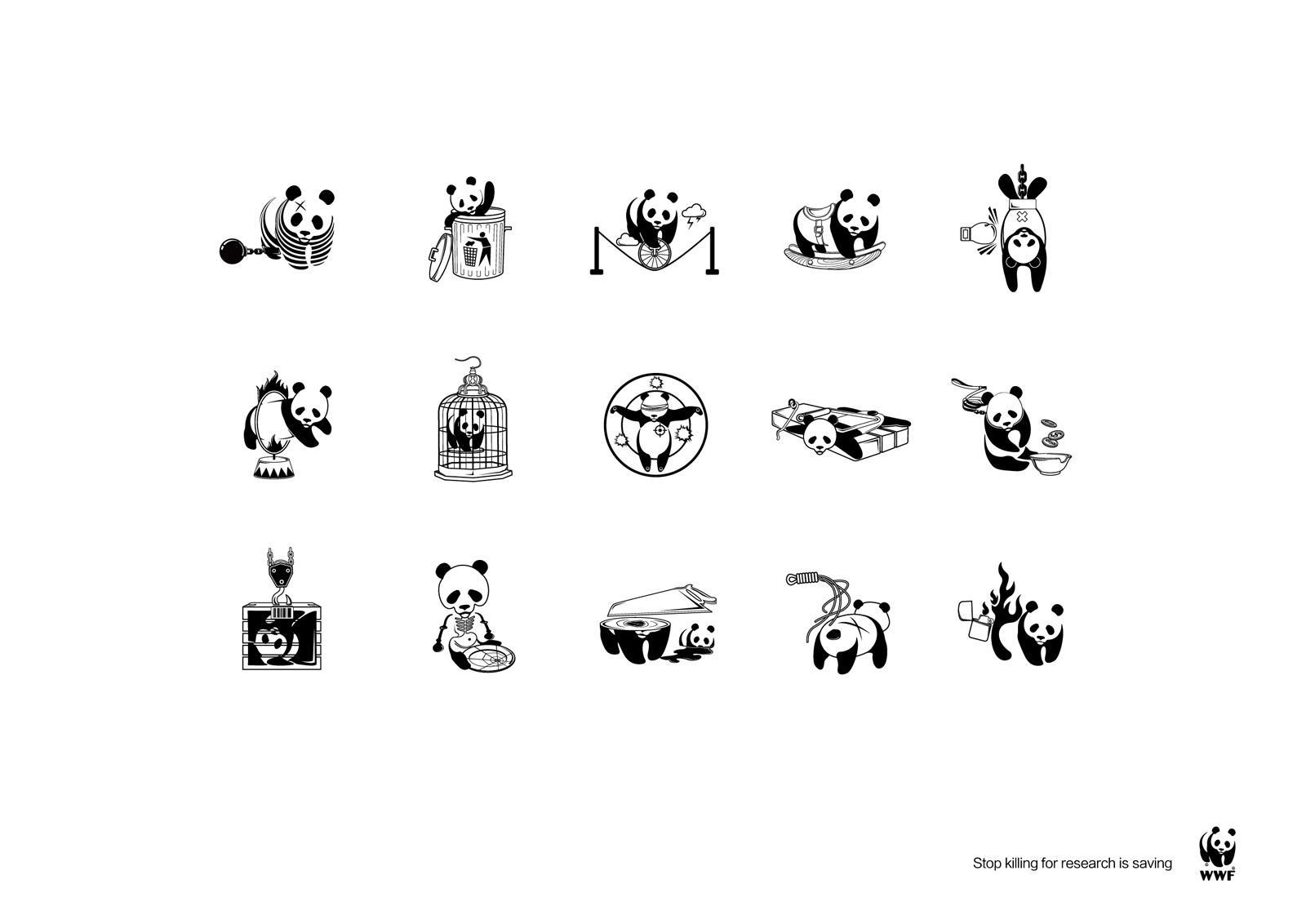 WWF Print Ad -  Abuse