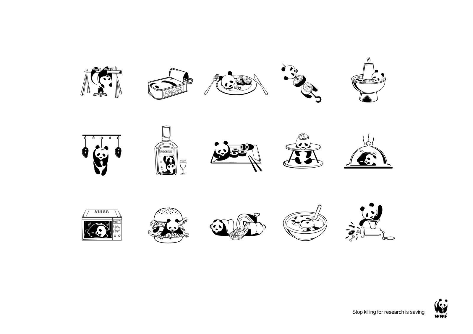 WWF Print Ad -  Food