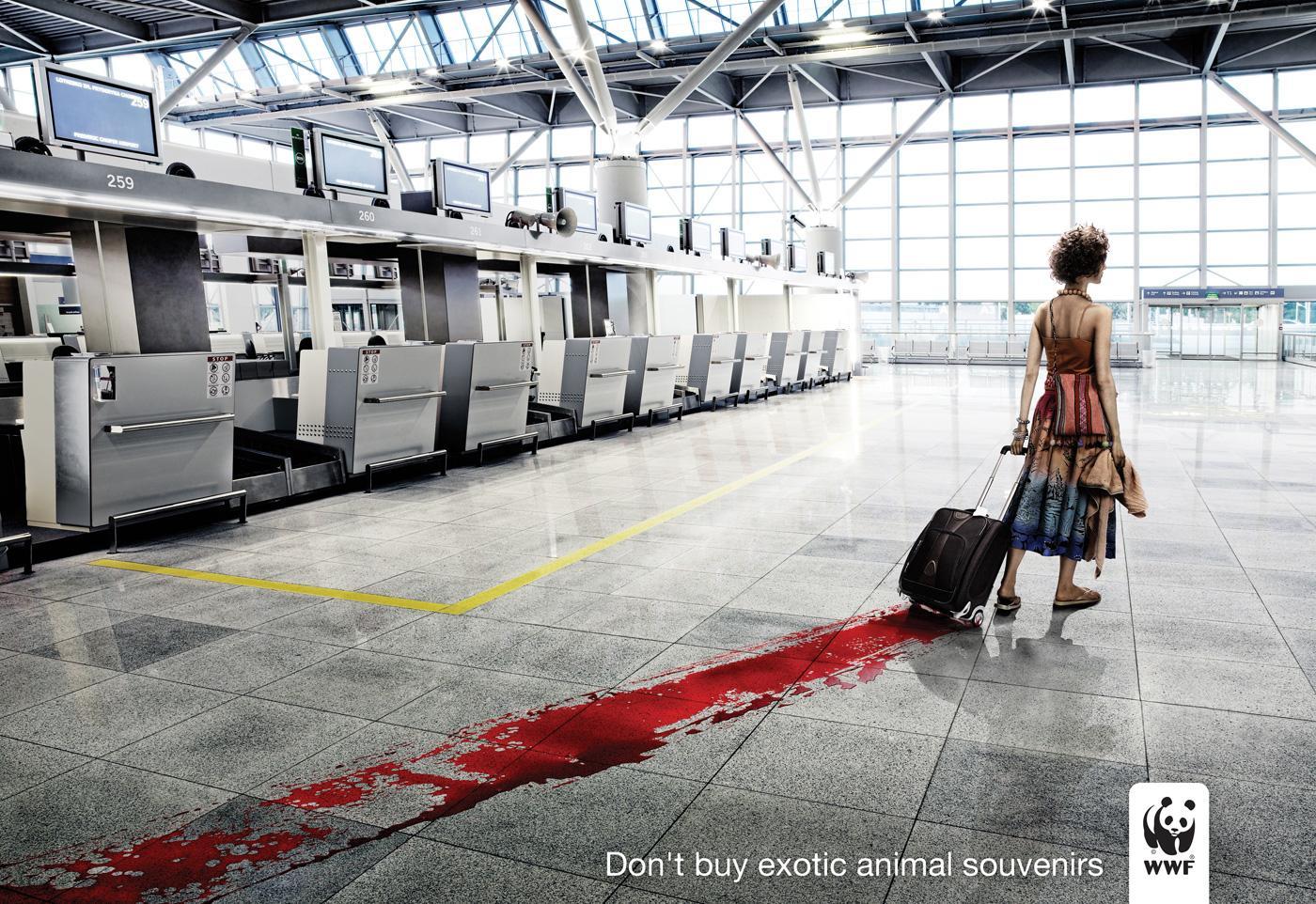 WWF Print Ad -  Blood