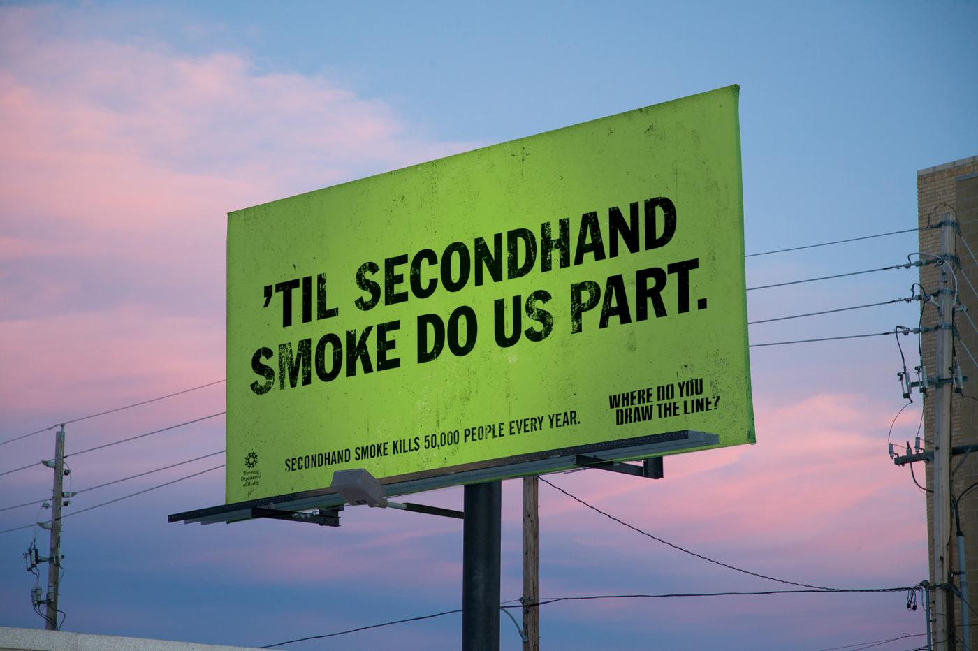 Wyoming Department of Health Outdoor Ad -  Apart