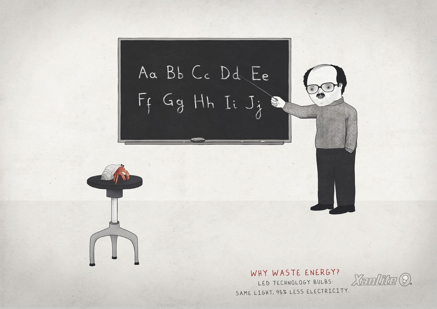 Xanlite Print Ad -  Teacher