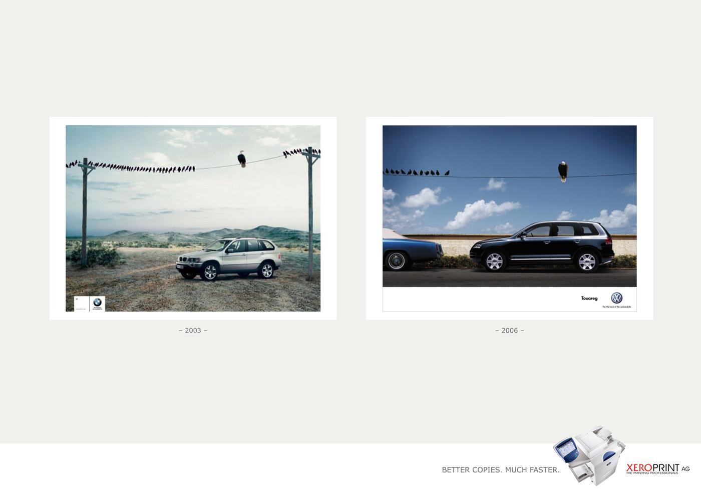 Xeroprint Print Ad -  Birds