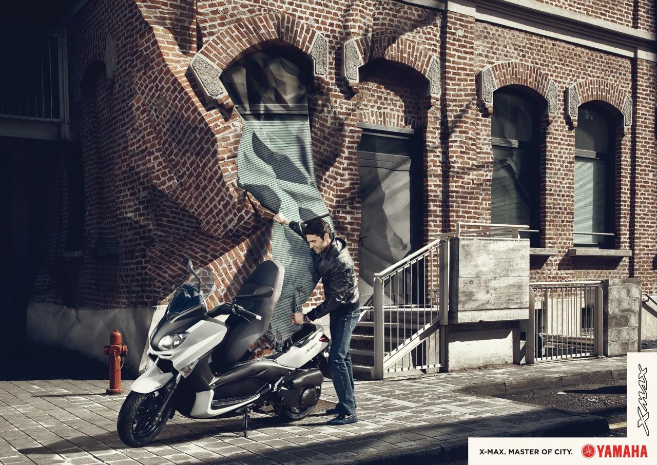 Yamaha Print Ad -  Paper City