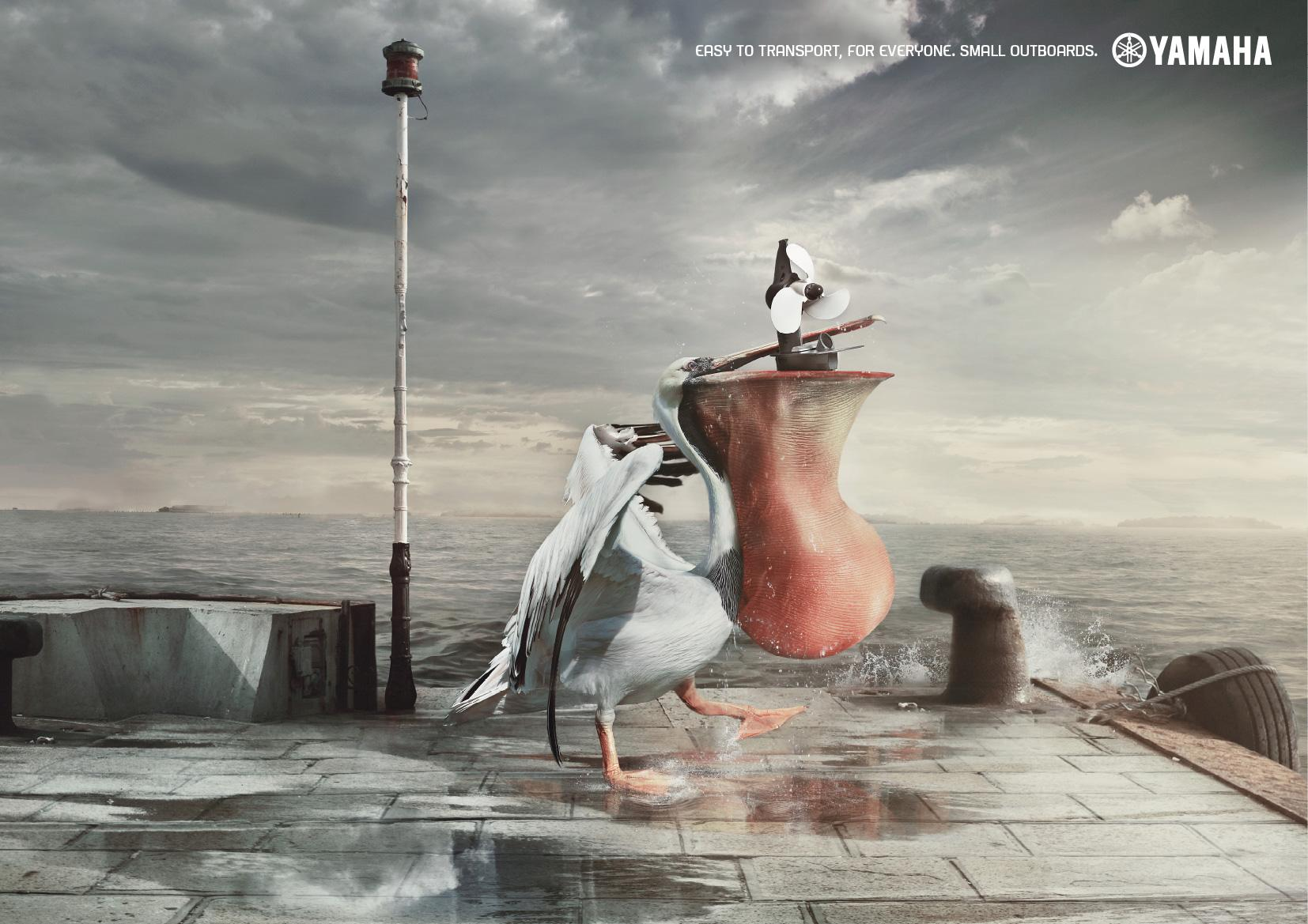 Yamaha Print Ad -  Pelican