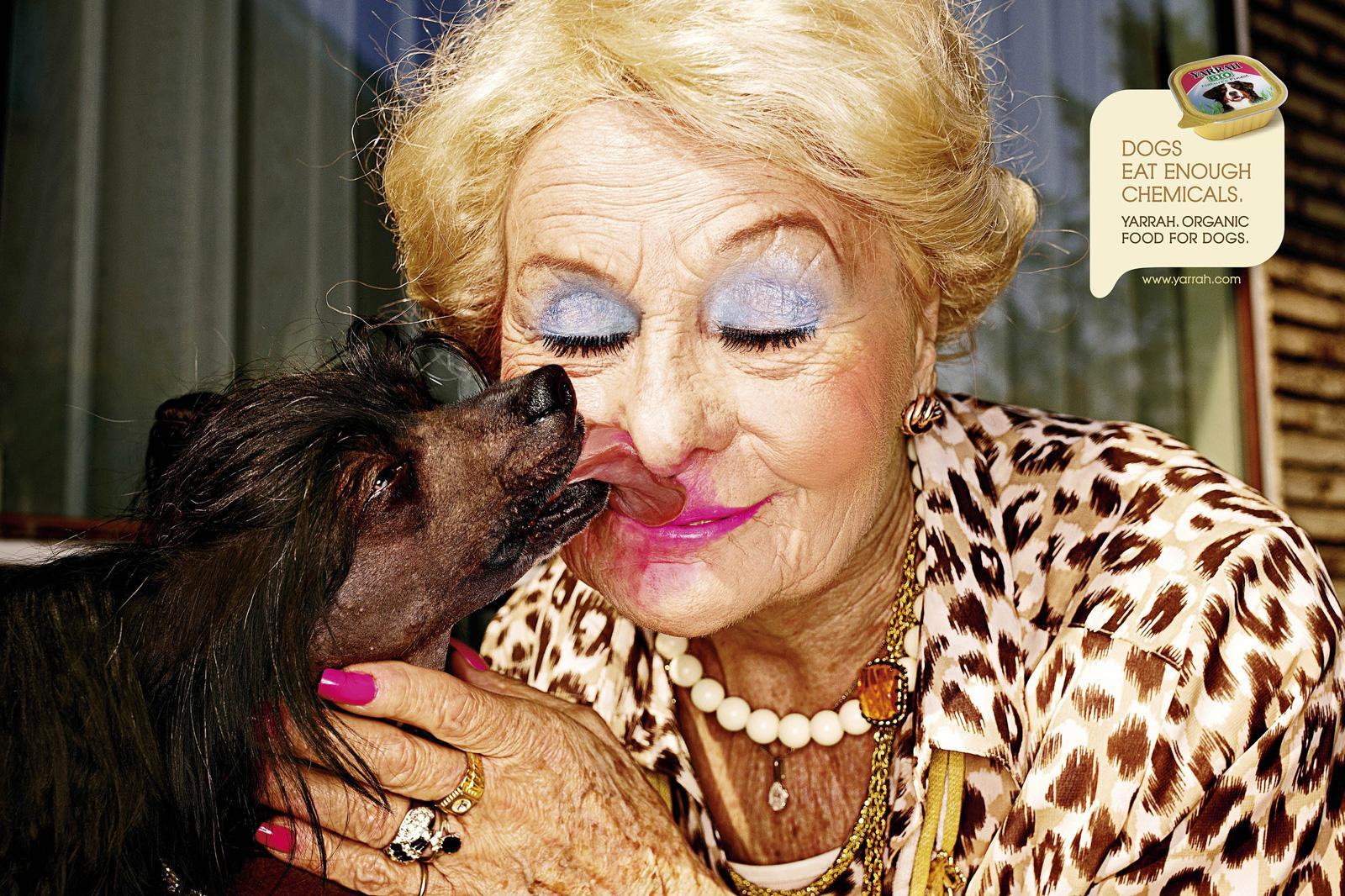 Yarrah Print Ad -  Blonde Mamy