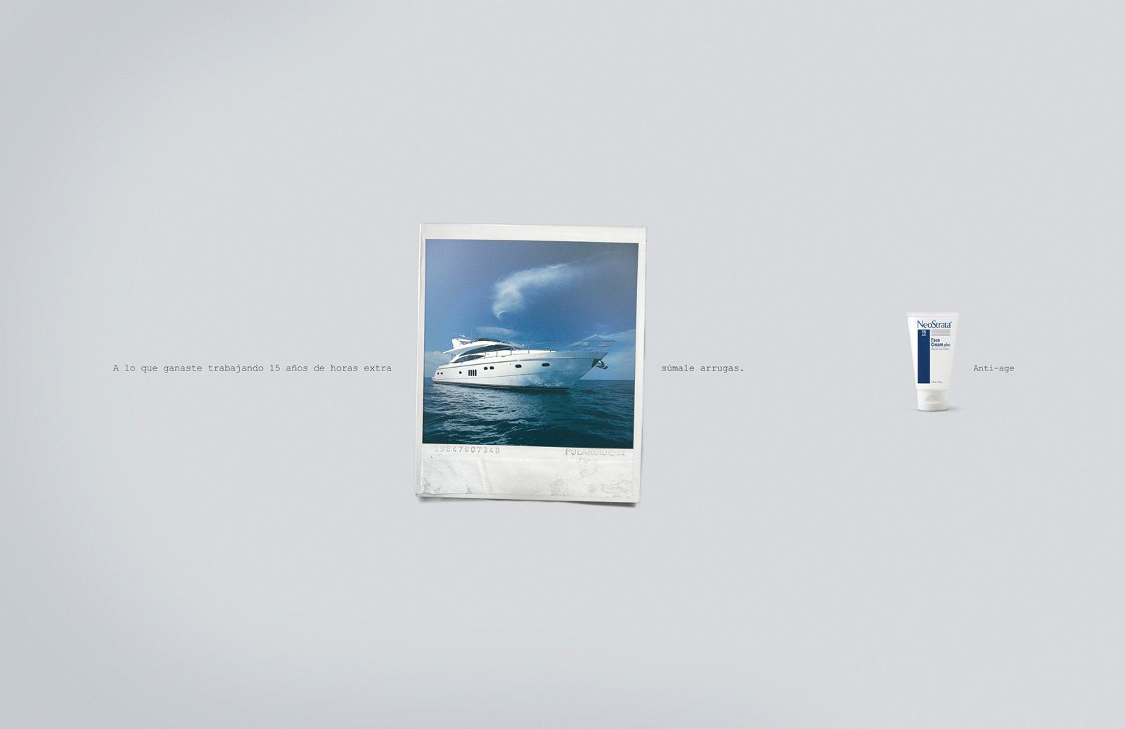 NeoStrata Print Ad -  Yacht