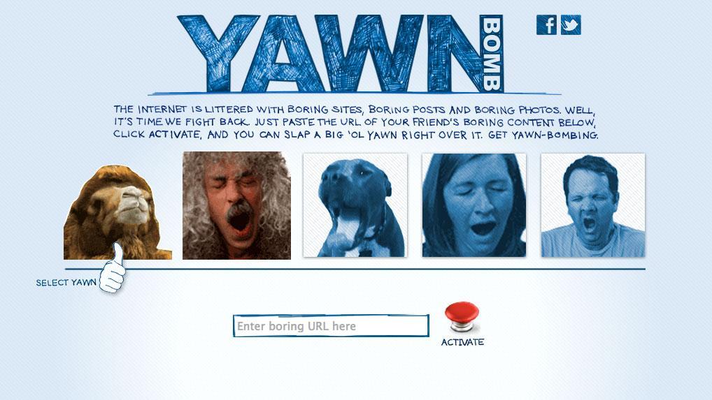 Carnival Digital Ad -  Yawn Bomb