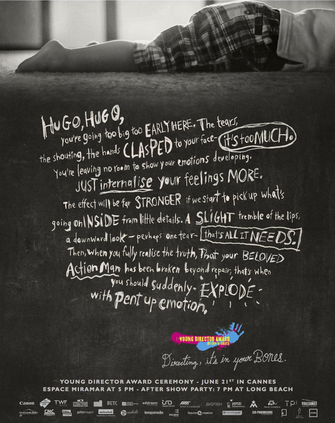 Young Director Award Print Ad -  Hugo