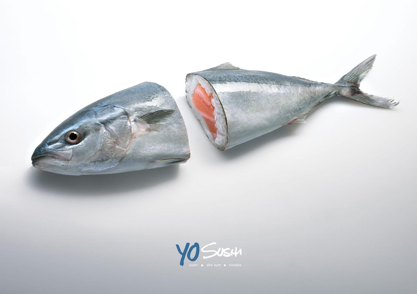 Yo Sushi Print Ad -  Tuna
