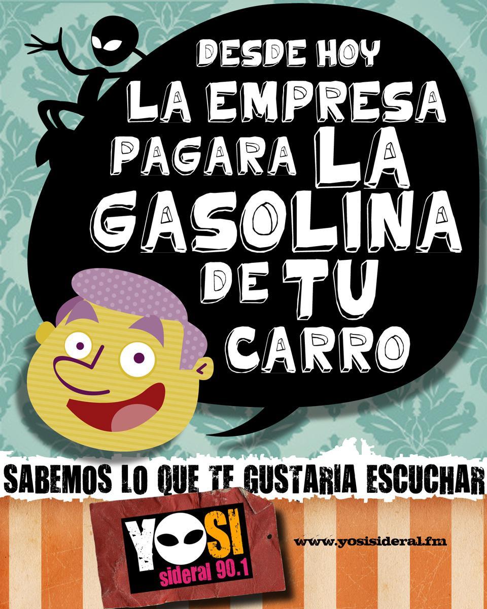 YoSi Sideral Print Ad -  Gasoline