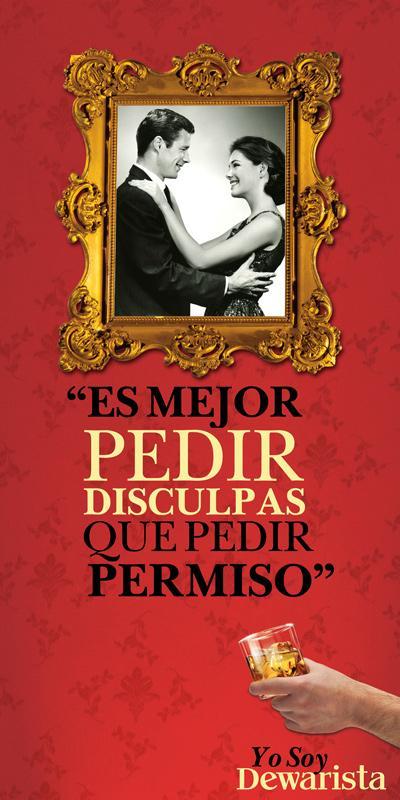 Dewar's Print Ad -  Permission