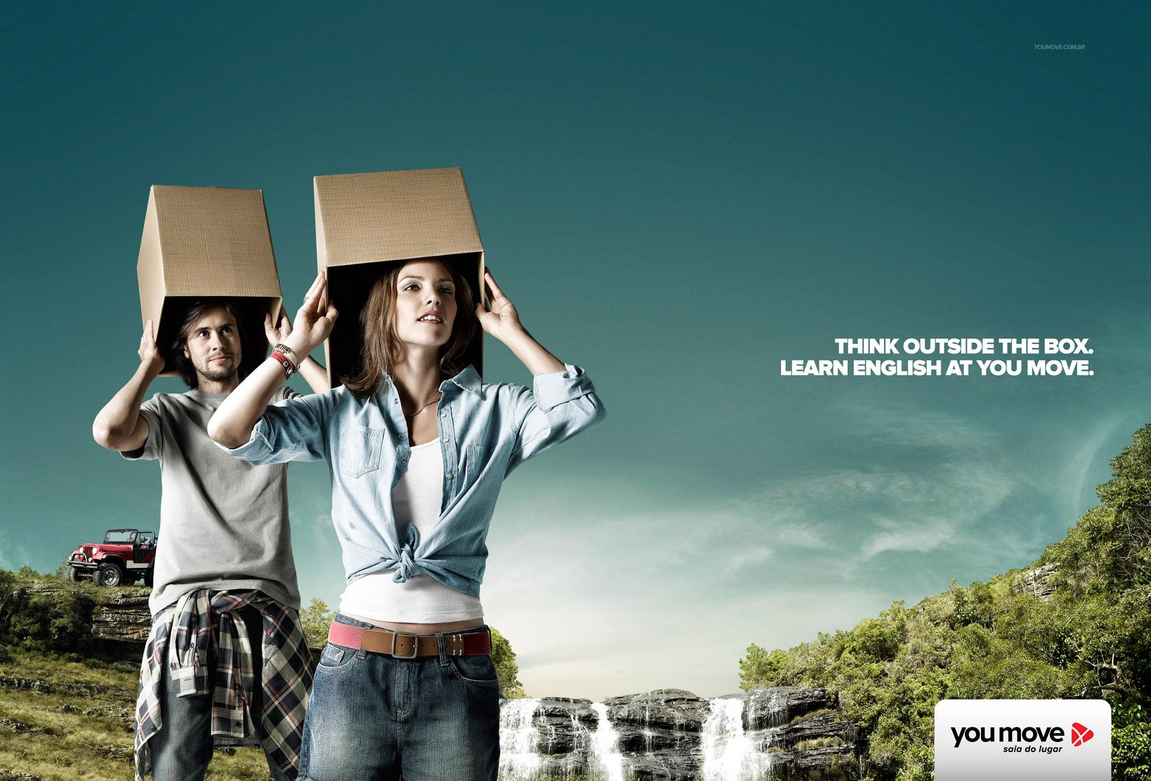 You Move Print Ad -  Waterfall