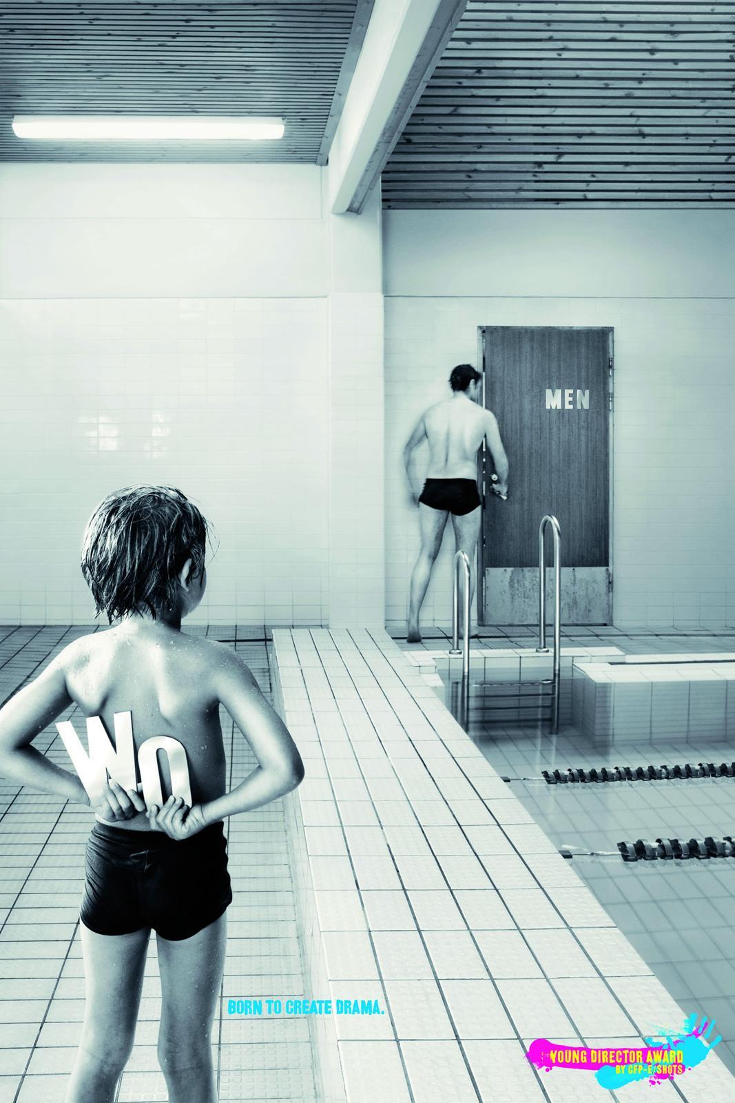 Young Director Award Print Ad -  Pool