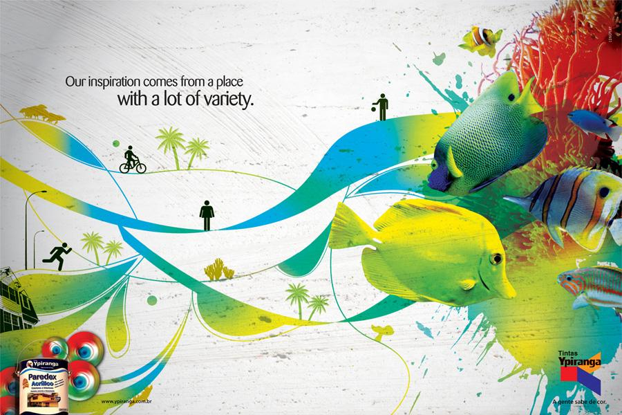 Ypiranga Print Ad -  Fish