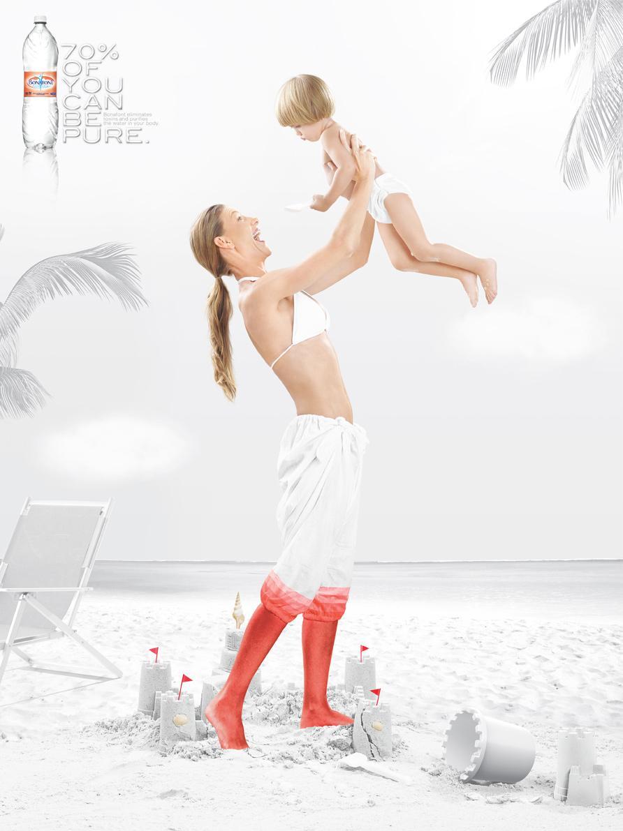 Danone Print Ad -  70%, Mom