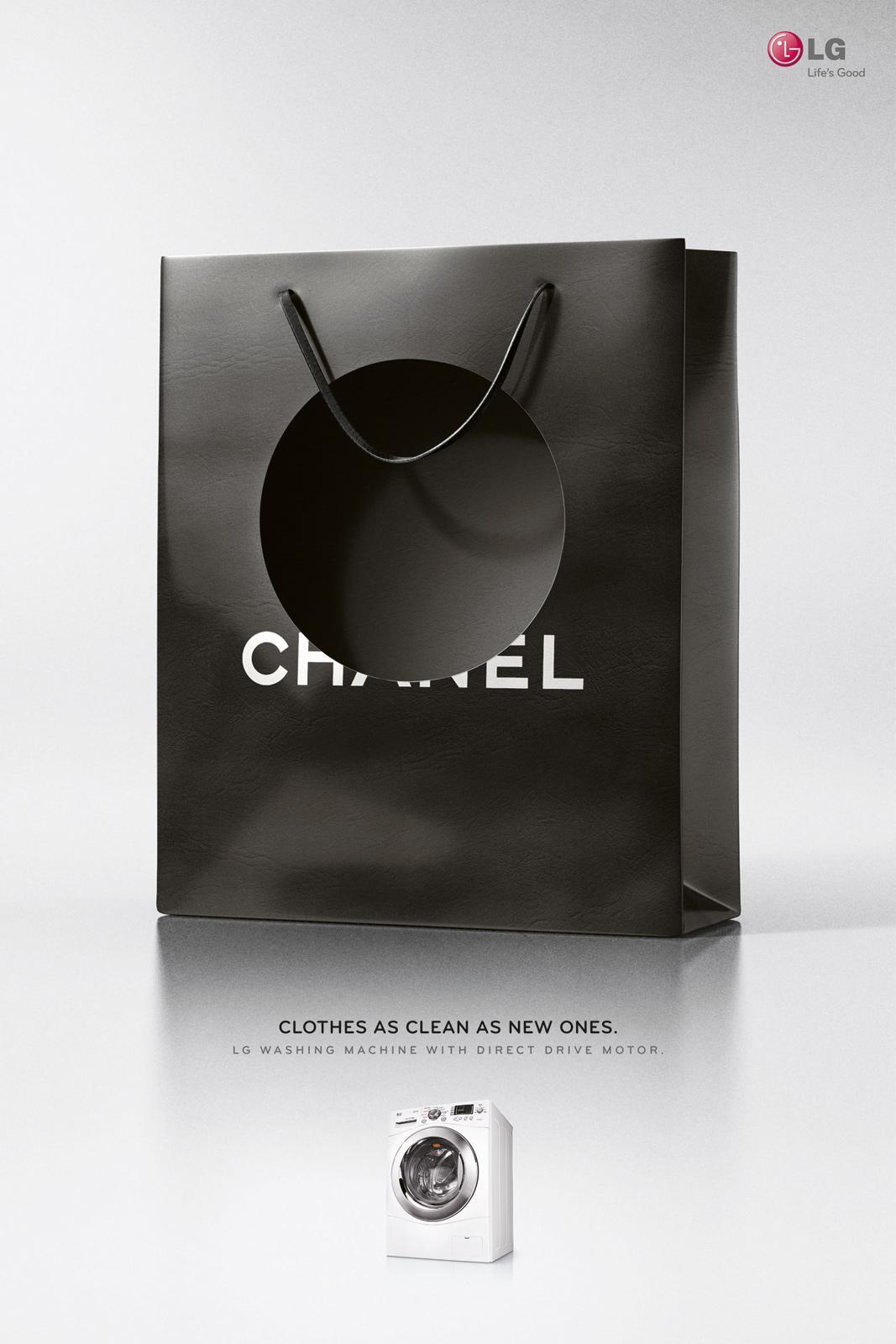 LG Print Ad -  Chanel bag