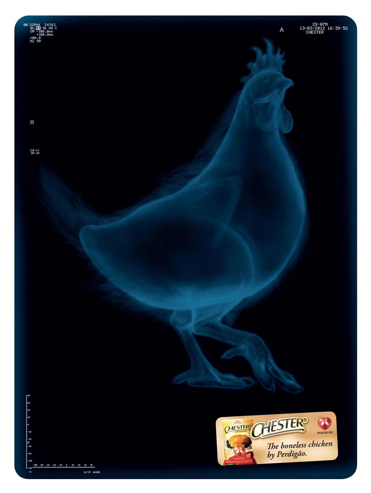 Perdigão Print Ad -  The Boneless Chicken