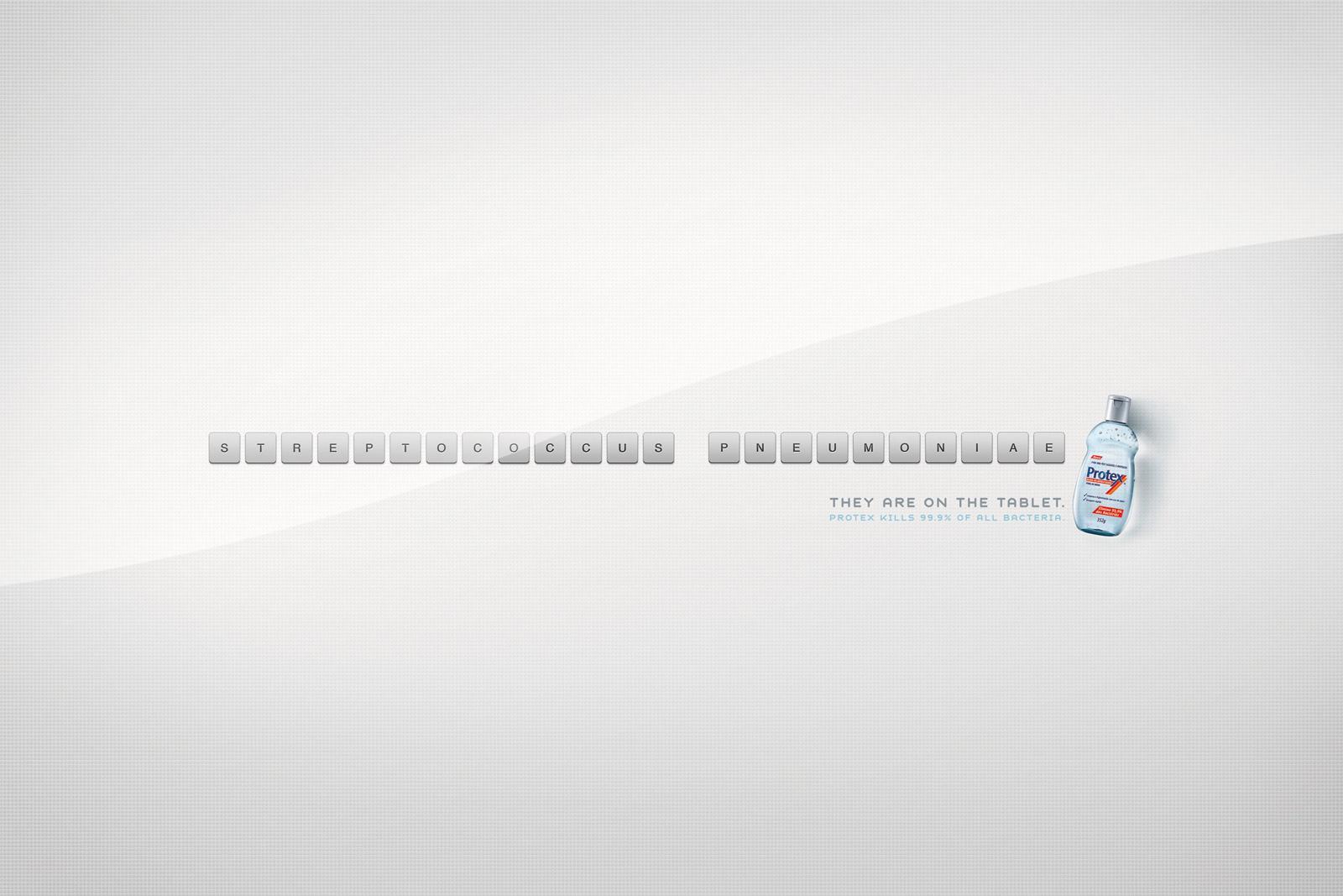 Protex Print Ad -  Tablet