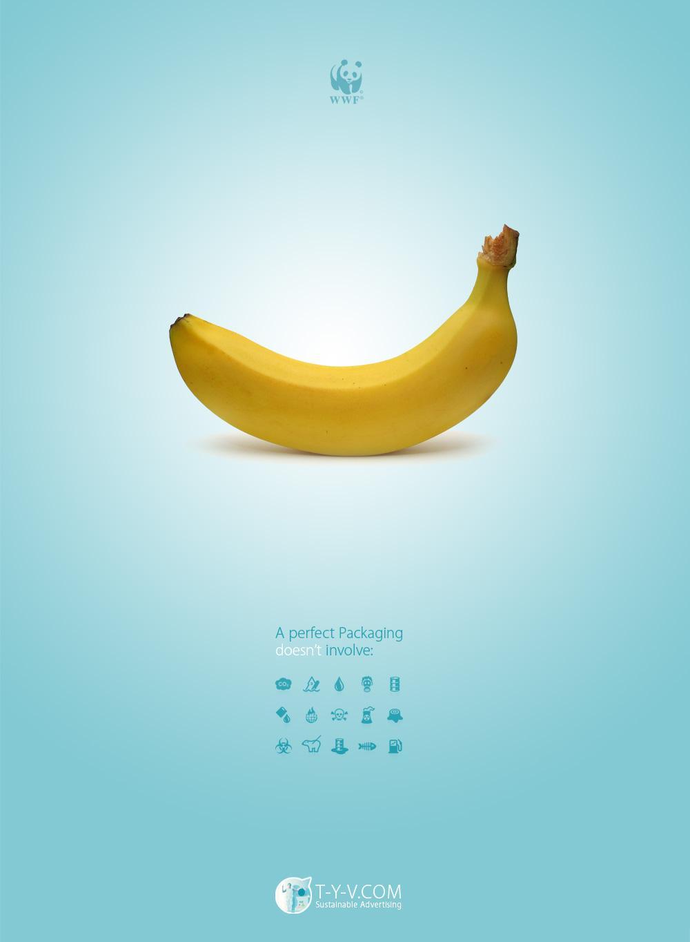 WWF Print Ad -  Banana