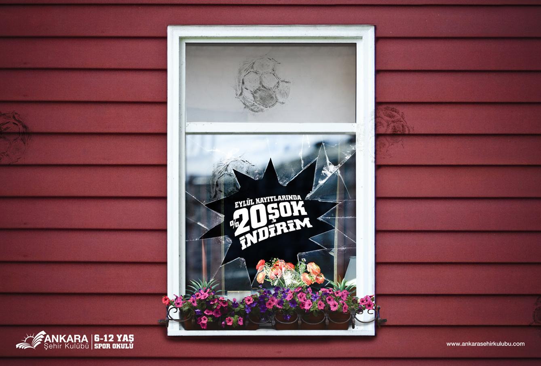 Ankara Sehir Klubu Print Ad -  Window