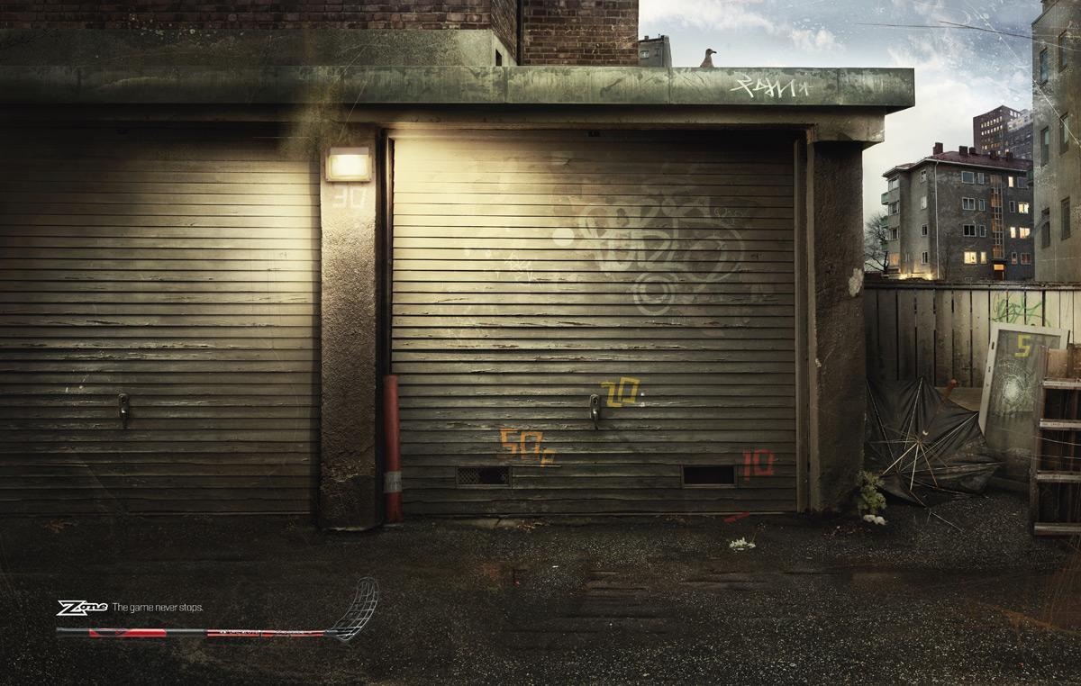 Zone Print Ad -  Garage door precision