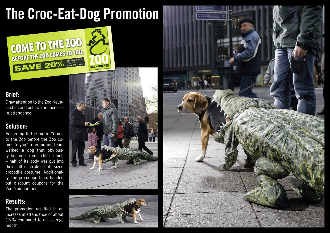 The Croc-eats-dog Promotion