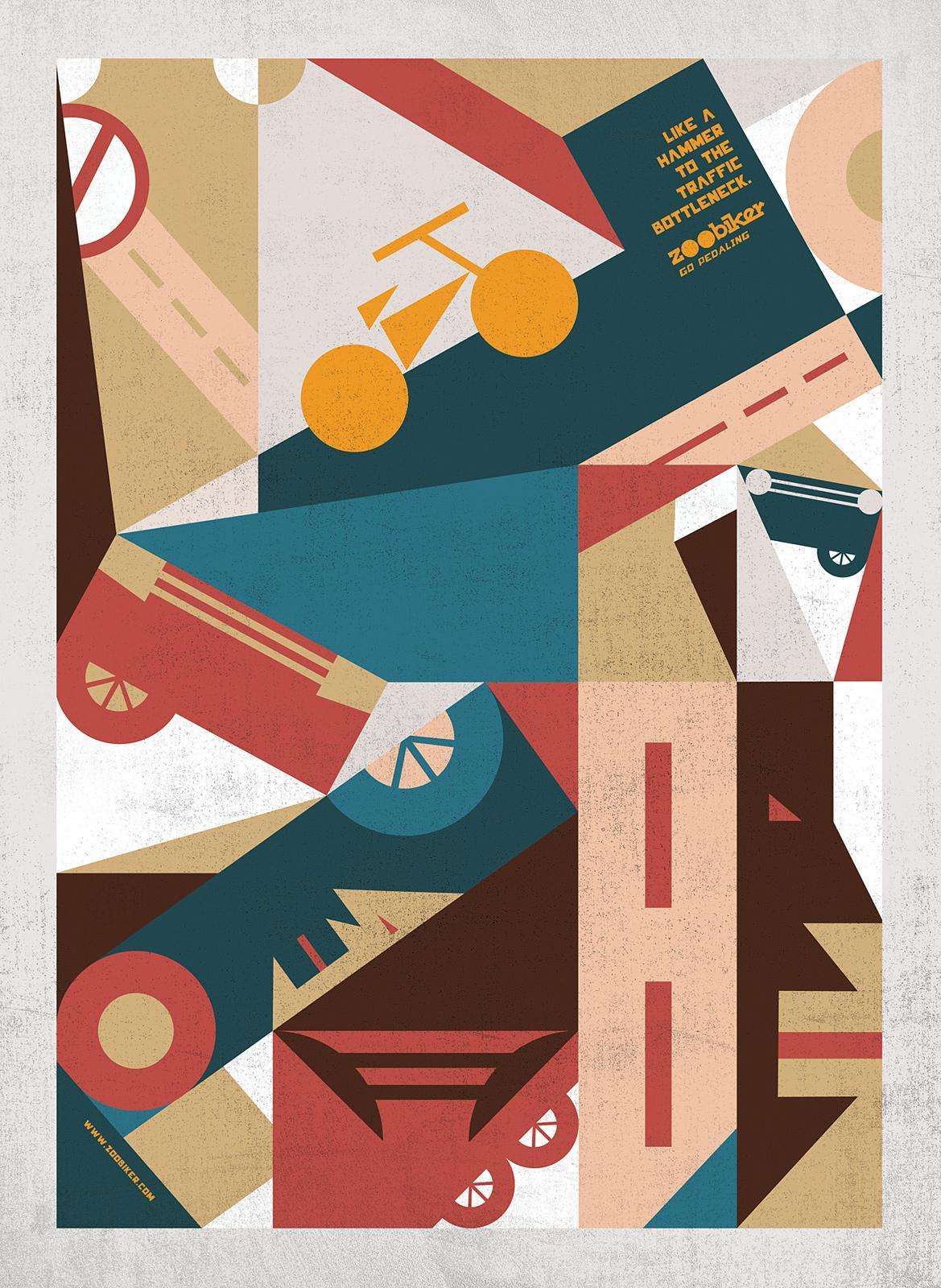 Zoobiker Print Ad -  Hammer