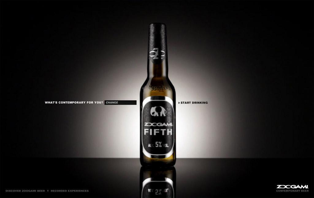 Zoogami Digital Ad -  Contemporary beer